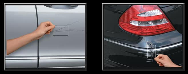 Mercedes-Benz Scratches and scuffs