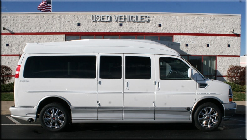Nine Passenger Conversion Vans - Used 9 Passenger Van for Sale