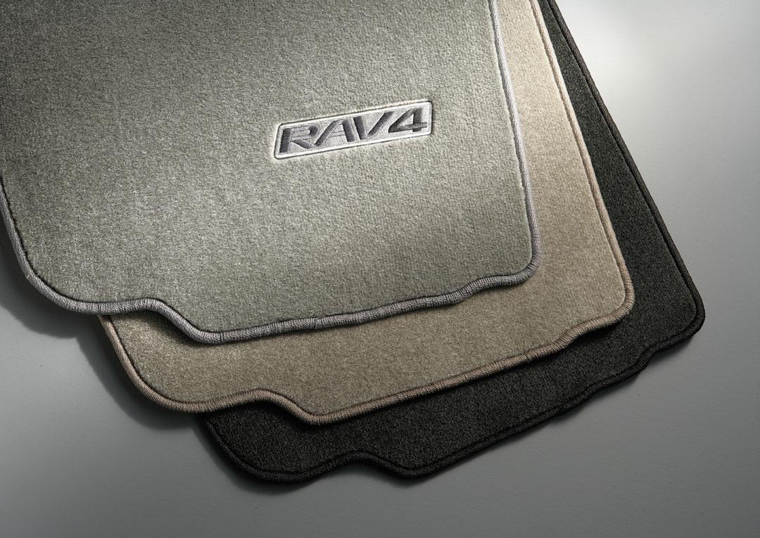 Floor mats rav4 - Custom Tailored