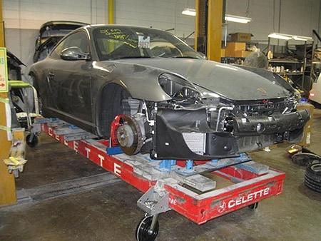 Atlanta Auto Body Repair Jim Ellis Collision Center - Porsche collision repair