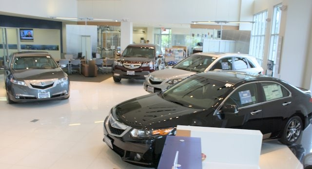 Norm Reeves Acura Showroom