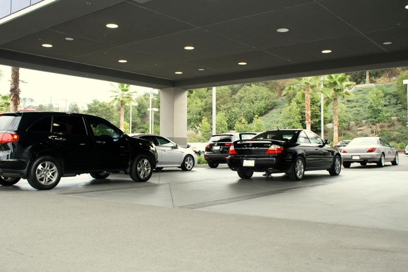 Norm Reeves Acura vehicle lot