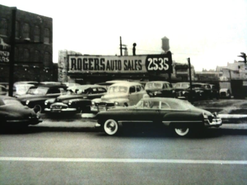 The Original Rogers Auto Sales in Chicago | located 2535 S Michigan Ave on Chicago's Motor Row