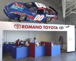 Romano Toyota Service Department