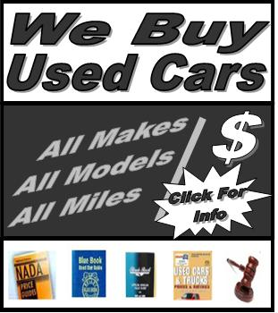 We Buy Used Car Demo Image - All makes, All Models, All Miles