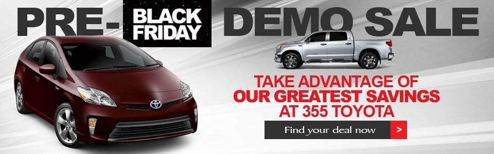 Scion Black Friday Sale Pre Black Friday Demo Sale
