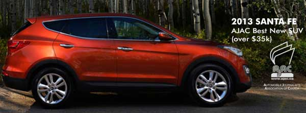 The 2013 Sante Fe Sport in CAMBRIDGE