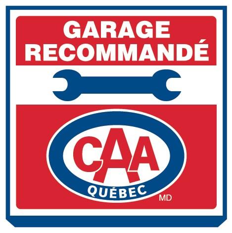 L 39 enseigne garage recommand caa qu bec vous assure d for Garantie garage reparation