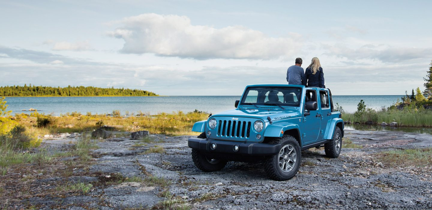 2017 Jeep Wrangler Unlimited Exterior Blue