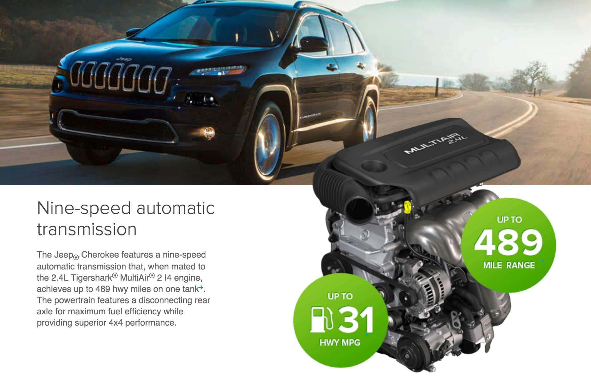 New 2016 Jeep Cherokee Wisconsin Jeep Dealer Milwaukee ...