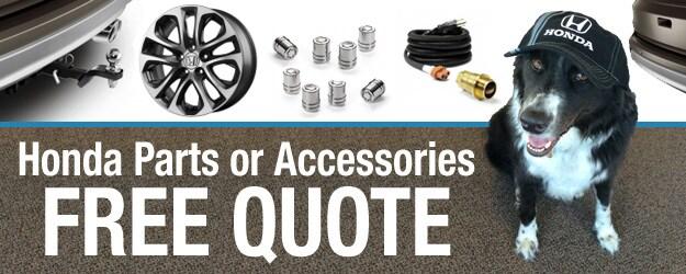 Free Honda Parts Quote