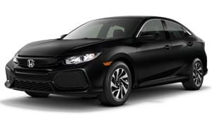 2017 Honda Civic  Hatchback Lease Deal
