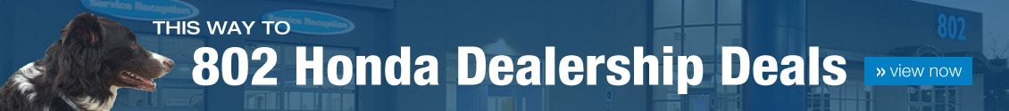 802 Honda Dealership Deals