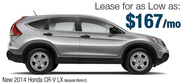 Lease it your way custom built honda leases 802 honda for Honda cr v lease