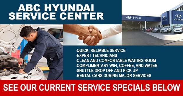 Hyundai service specials at our Las Vegas dealer serving Clark County near Henderson
