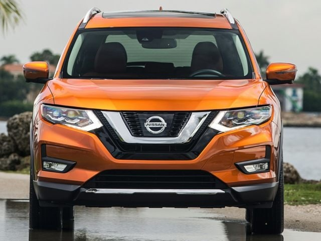 front end of the 2017 Nissan Rogue