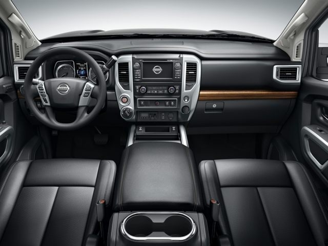 inside the new Nissan Titan XD