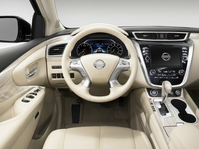 inside the 2017 Nissan Murano