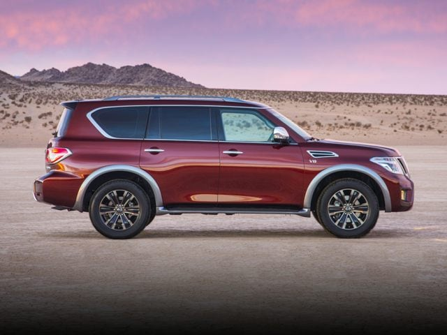 side view of 2017 Nissan Armada