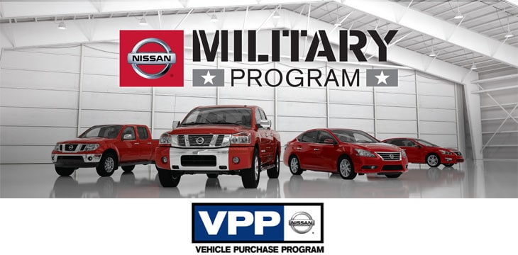 Nissan Military Discounted Purchase Program