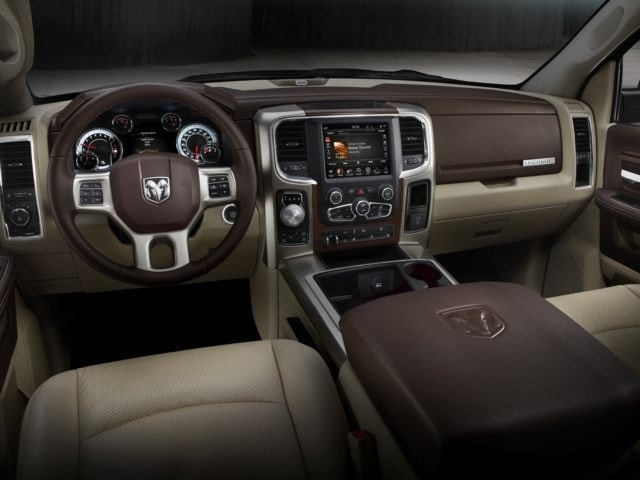 inside the new Ram 1500 truck