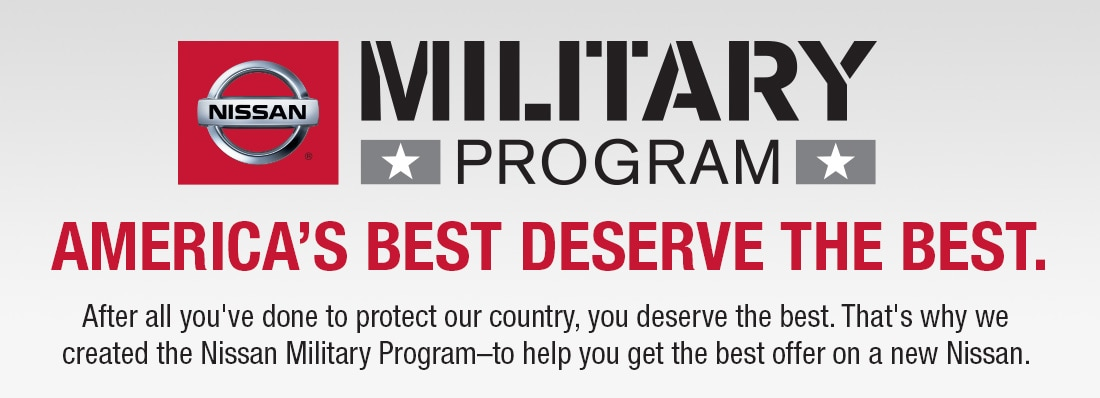Special Offers from Nissan for Military Personnel