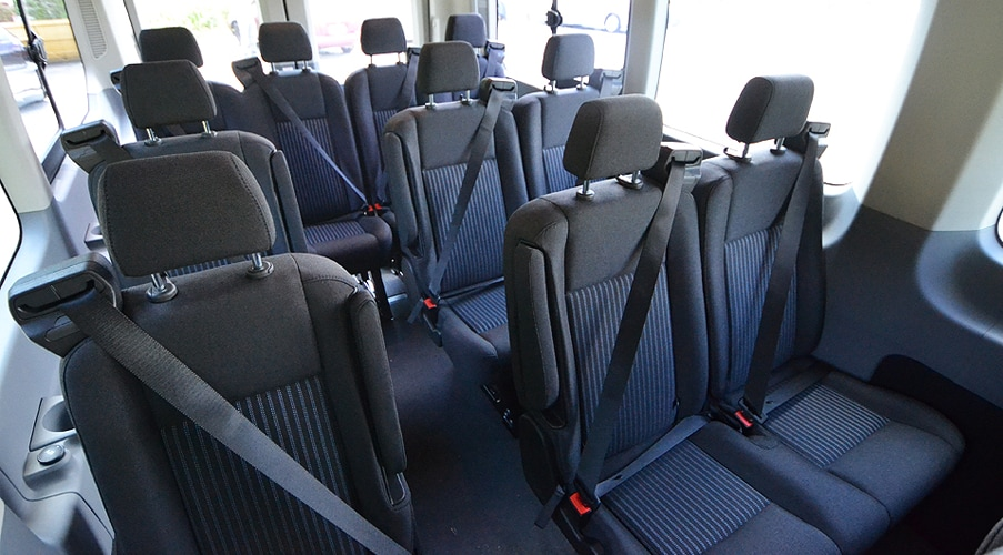 2016 Ford Transit | Full-Size Commercial Van Transformed | Acton ...
