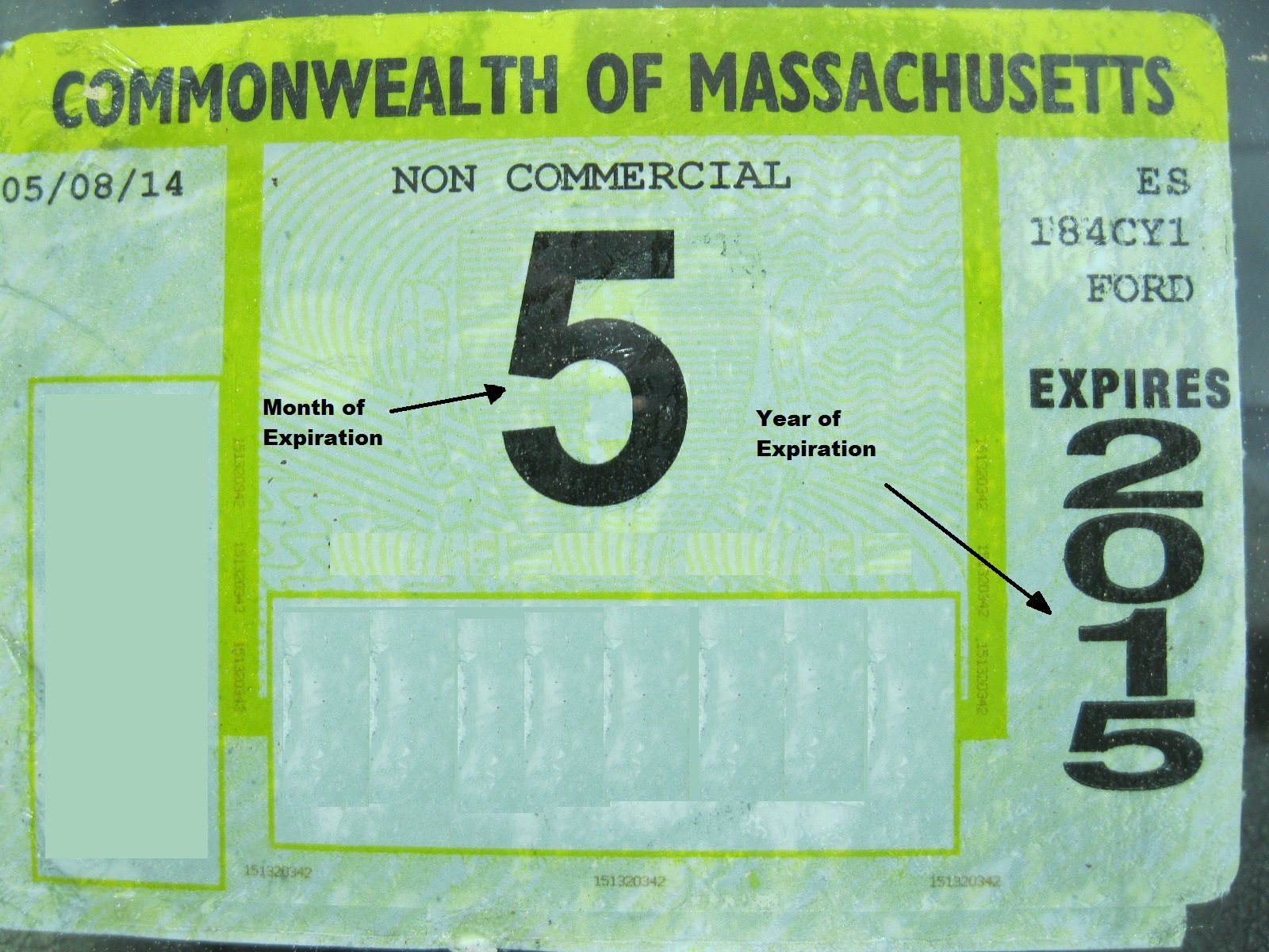 New Bedford Now Issuing Citations for Expired Inspection Stickers on City  Streets