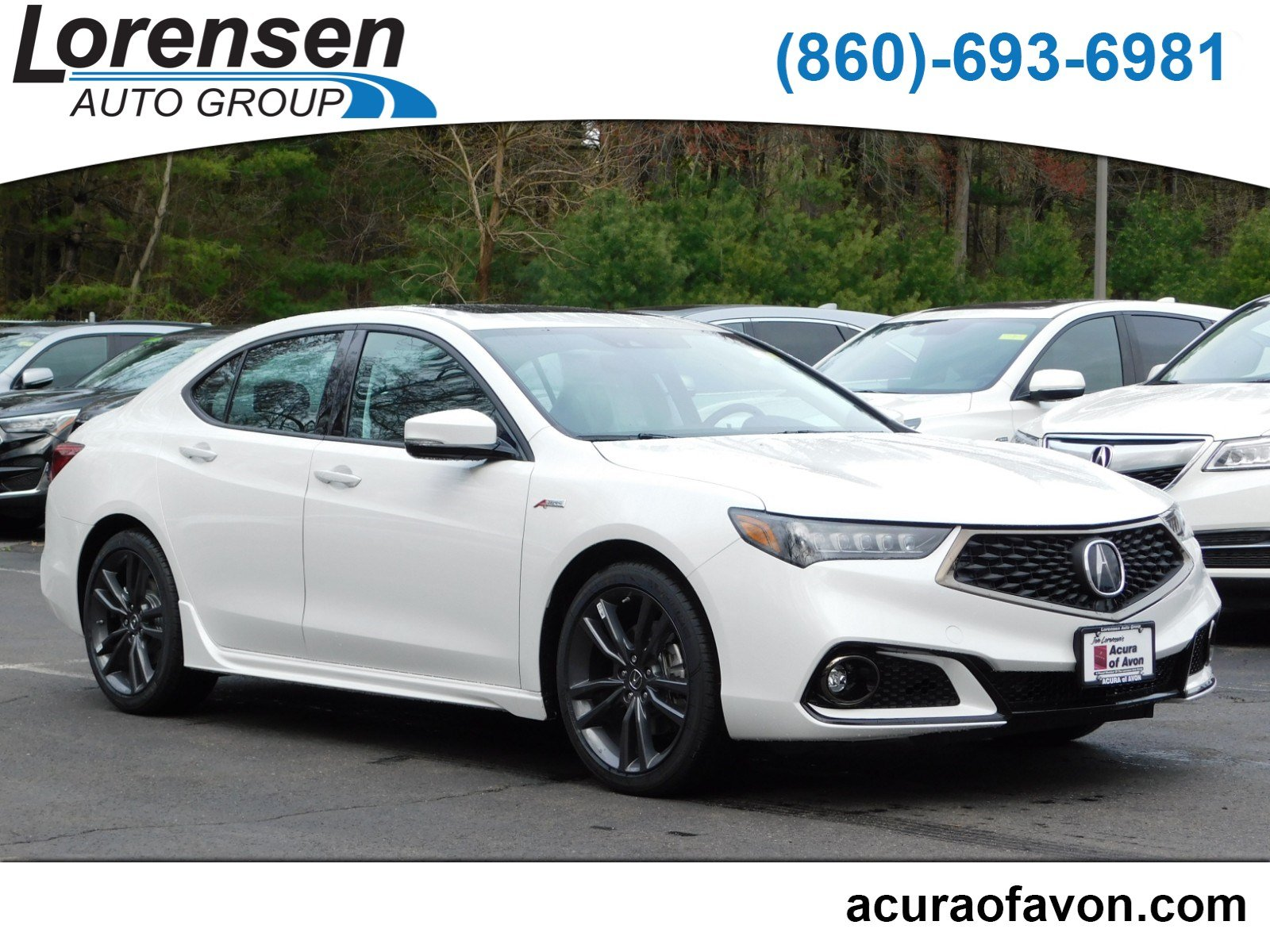 2020 Acura TLX with A-Spec Package
