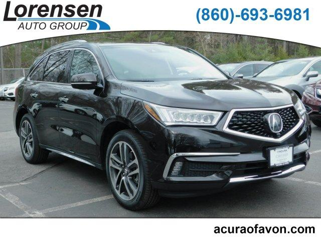 2017 Acura MDX V6 SH-AWD with Advance & Entertainment Packages