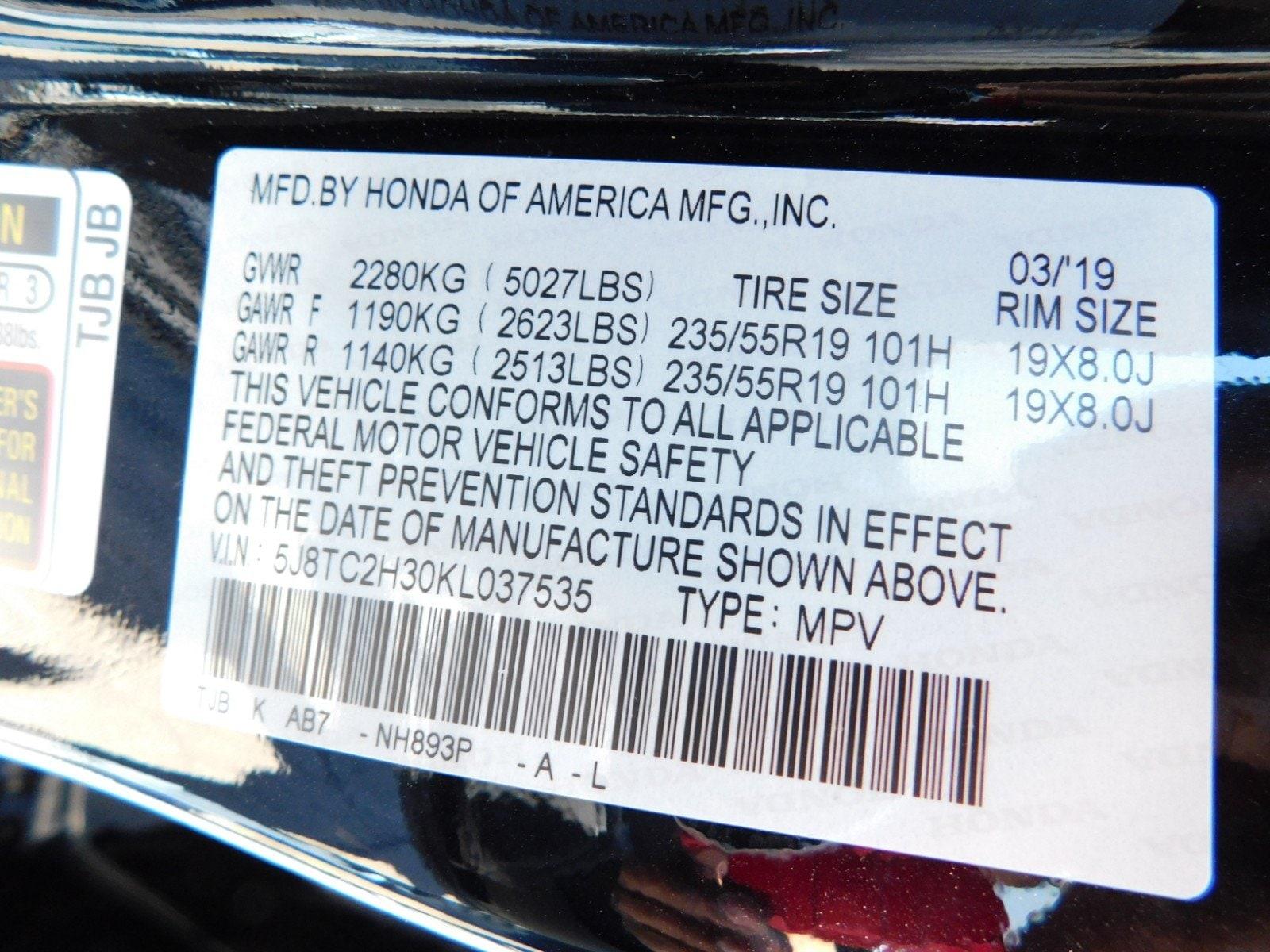 2019 Acura RDX SH-AWD