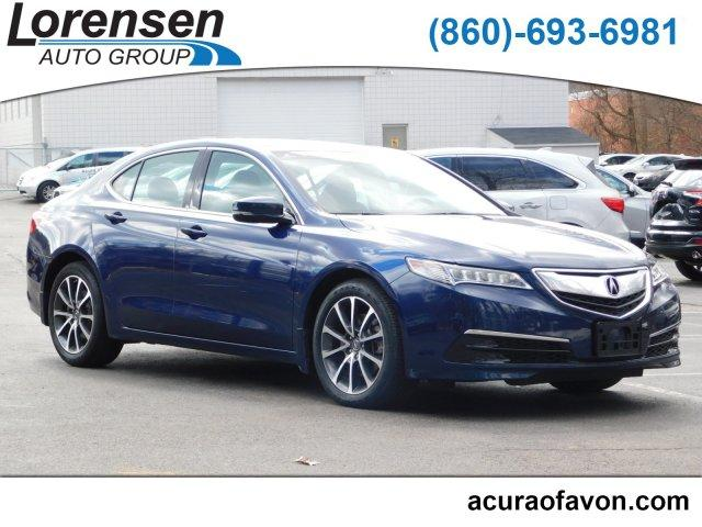 2015 Acura TLX 3.5 V-6 9-AT P-AWS with Technology Package