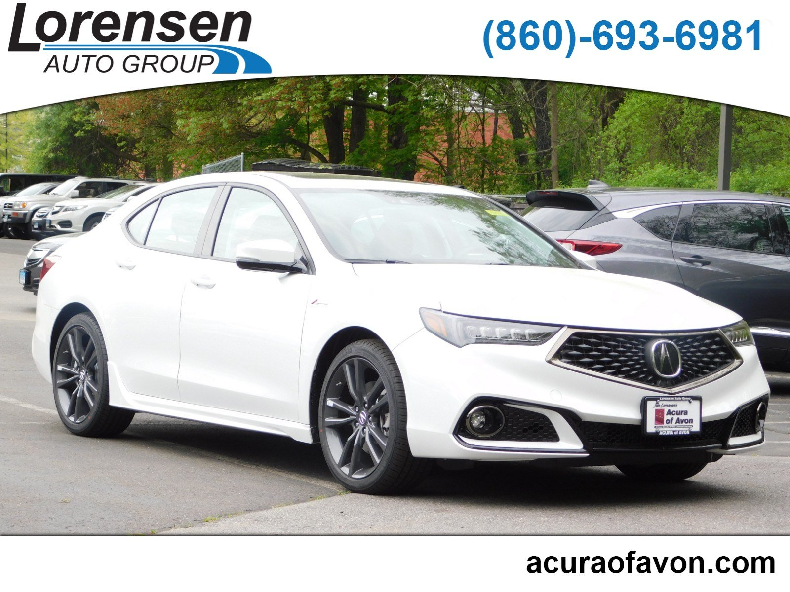 2020 Acura TLX with A-Spec Package and Red Interior