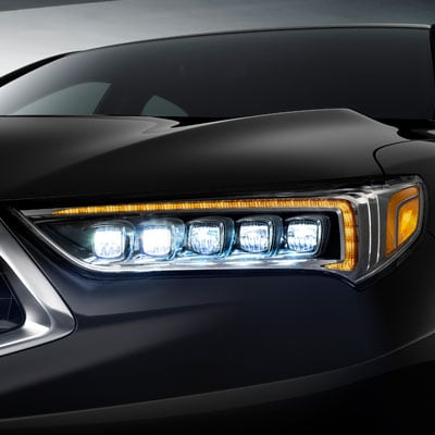 2018 Acura TLX Headlights and Moonroof