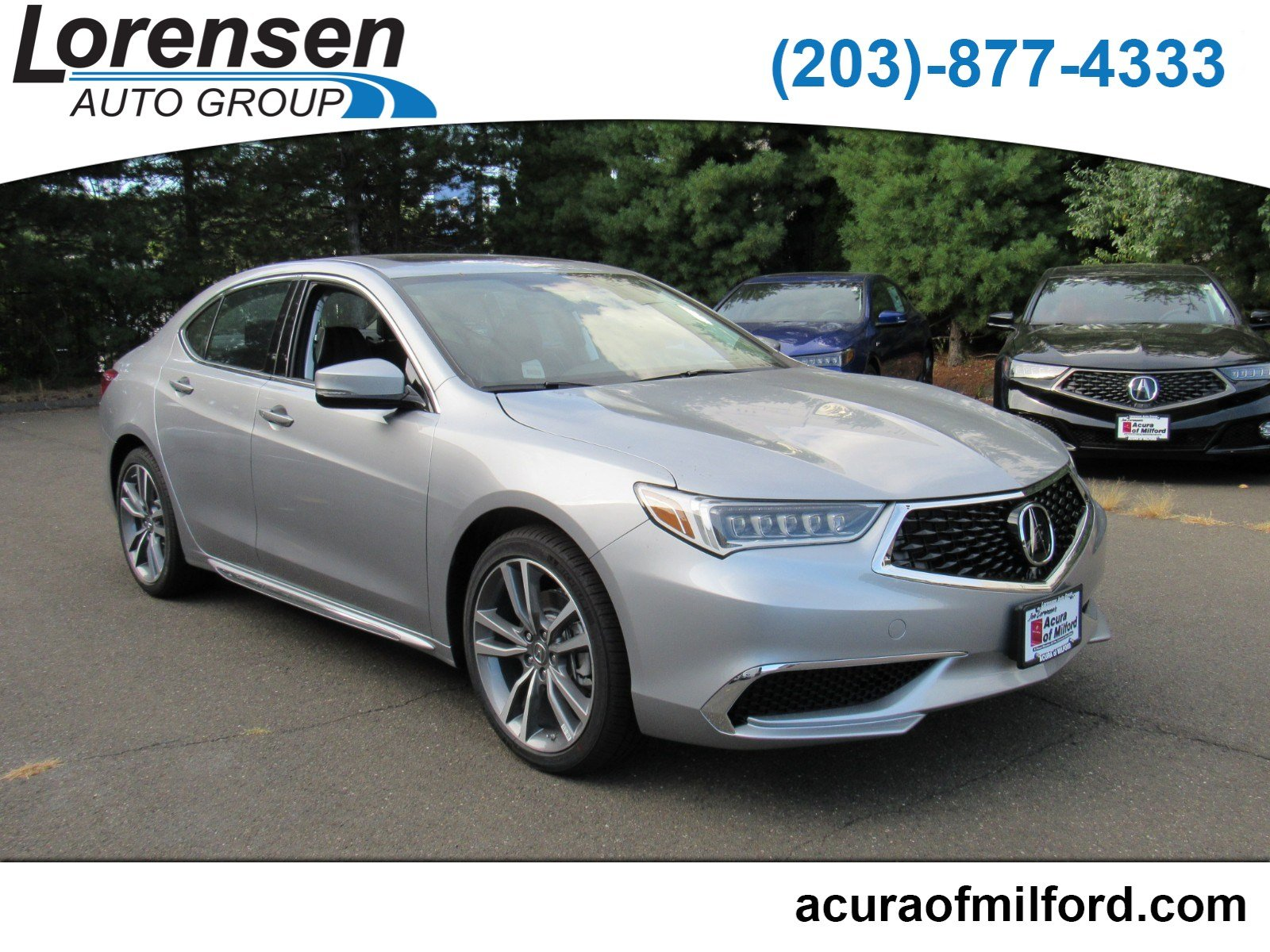 New 2019 Acura TLX 3 5 V 6 9 AT SH AWD with Technology Package Sedan