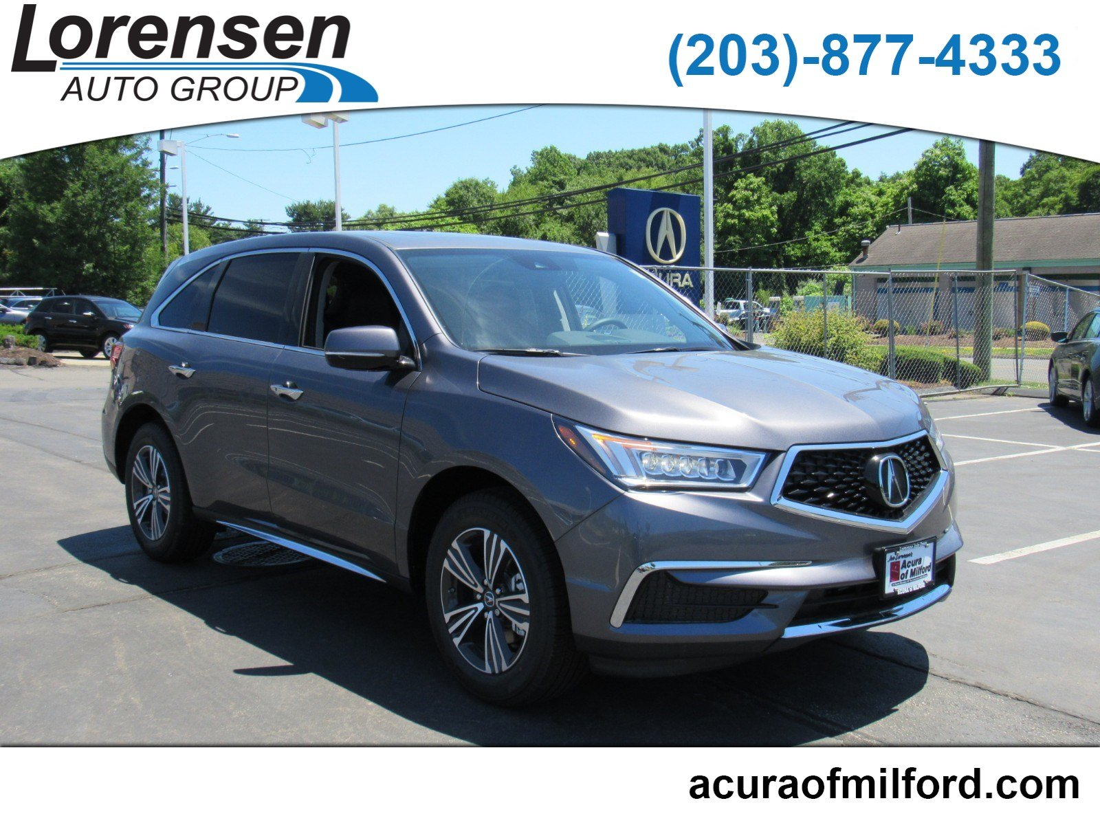 New 2018 Acura MDX SH AWD SUV in Milford