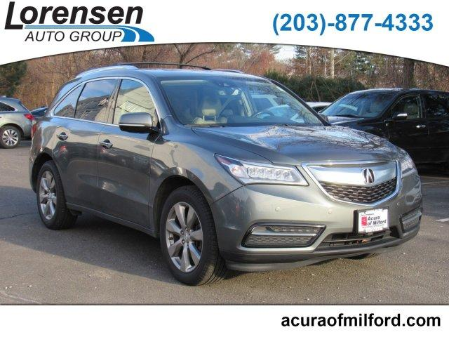 2016 Acura MDX SH-AWD with Advance and Entertainment Packages