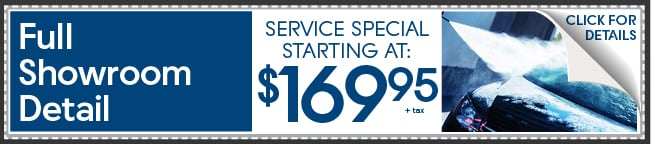 Full Showroom Wash And Detail Coupon, Peoria