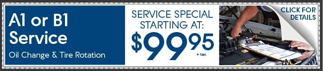 A1 Or B1 Service Coupon, Peoria