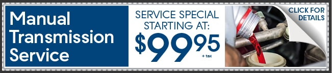 Manual Transmission Service Coupon, Peoria