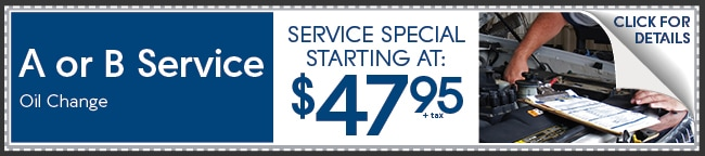 A Or B Service Coupon, Peoria