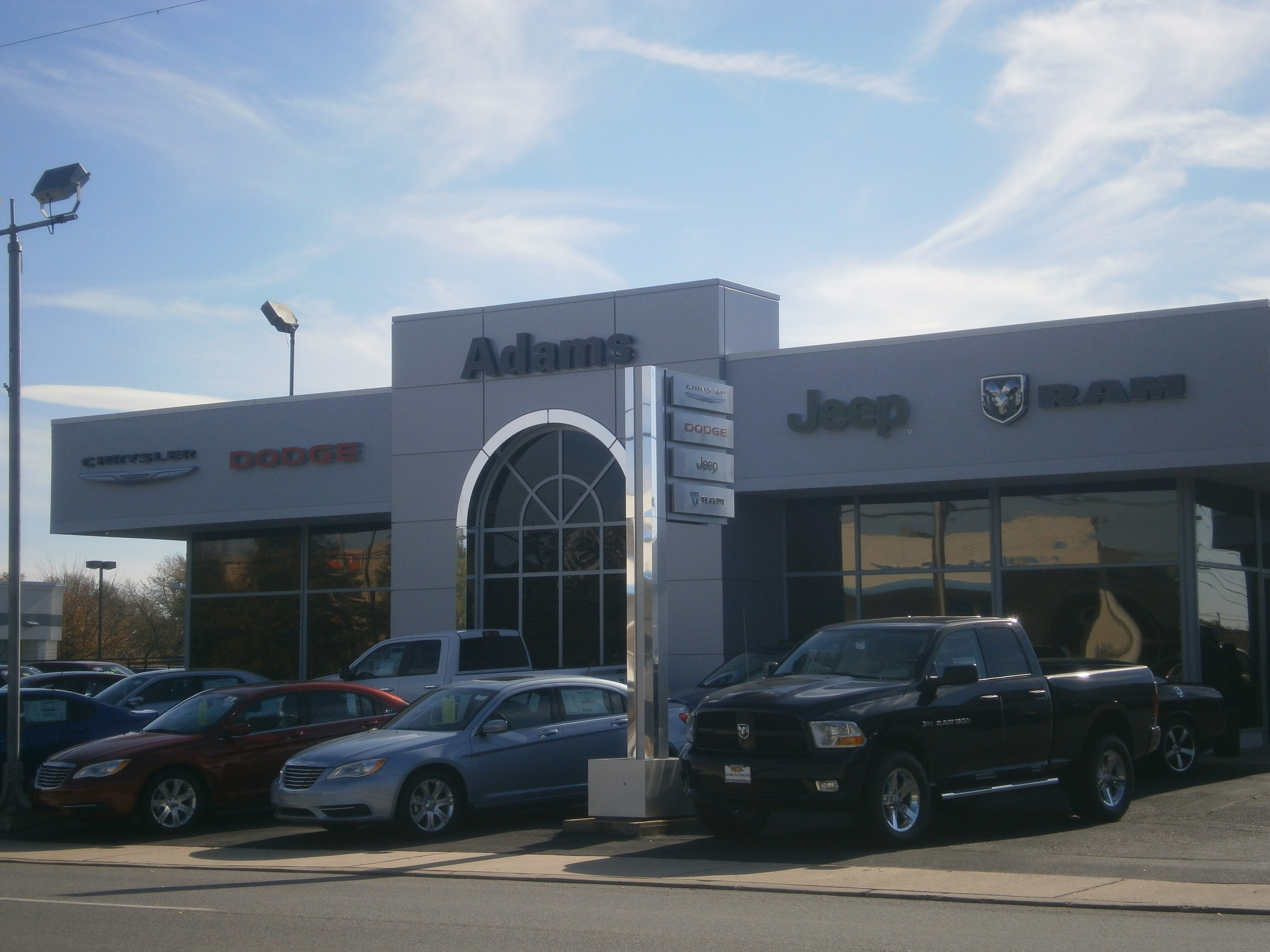 adams chrysler dodge jeep ram proudly serves drivers from arnold with. Cars Review. Best American Auto & Cars Review