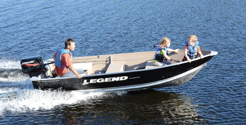 LEGEND BOATS LTD 14 WIDEBODY