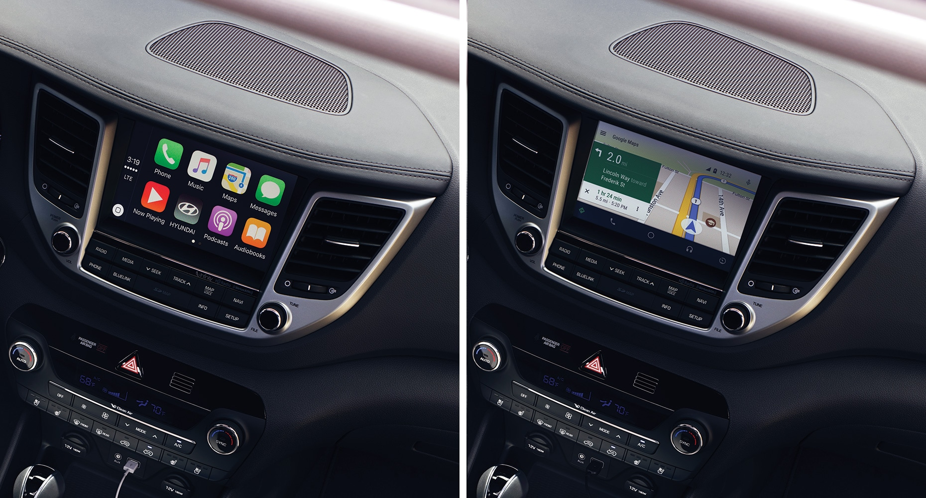 Apple CarPlay™ and Android Auto™