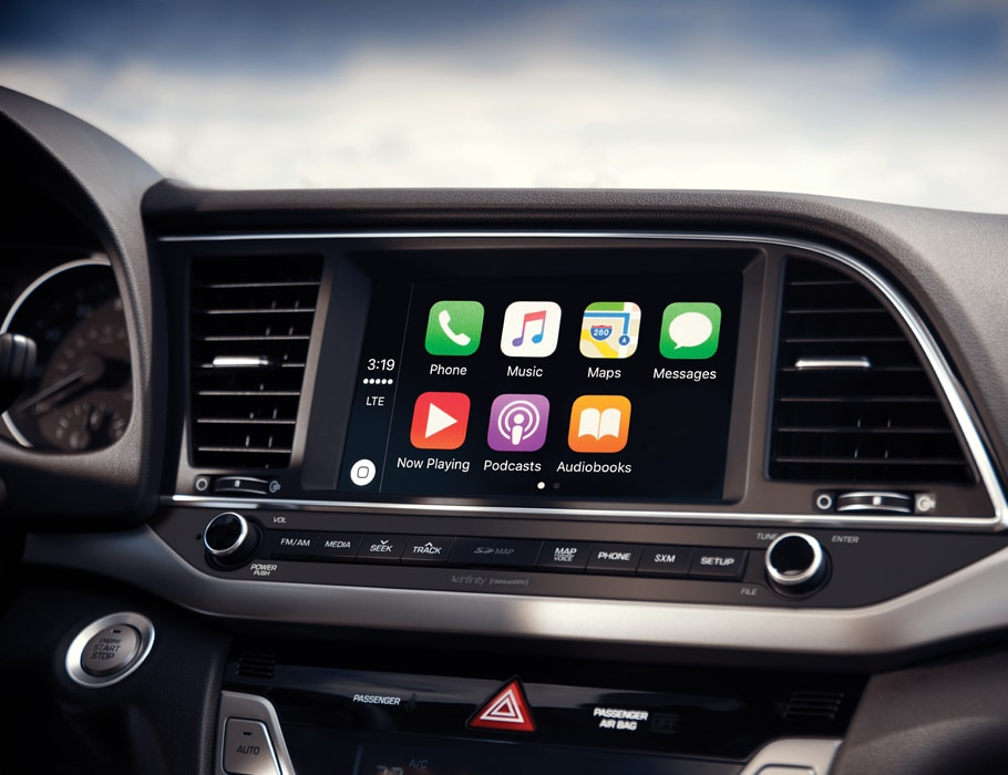 Available Apple CarPlay™