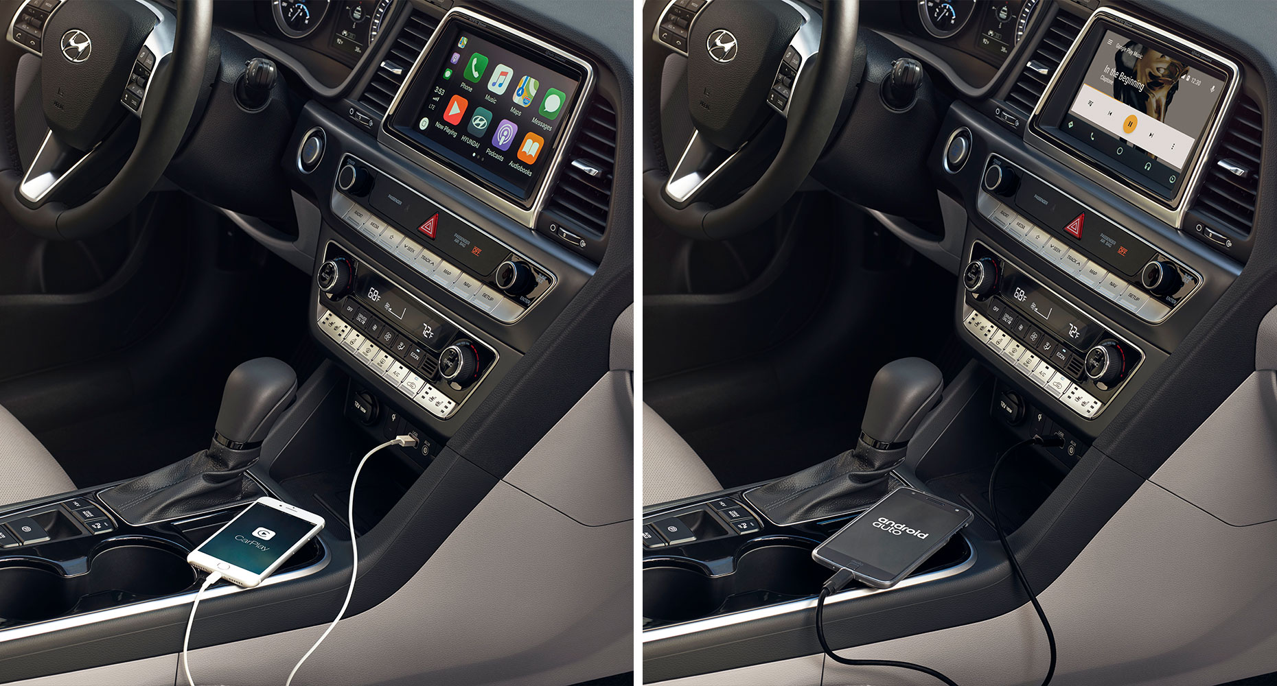 Android Auto™ and Apple CarPlay™