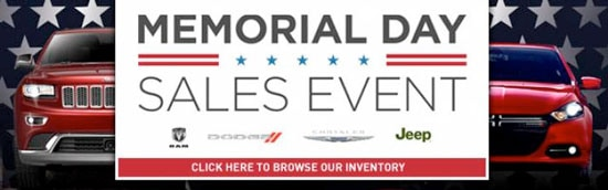 Memorial Day Best Car Dealer