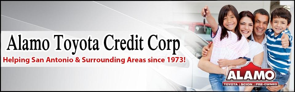 Alamo Toyota Credit Corp Information  Auto Financing in San Antonio