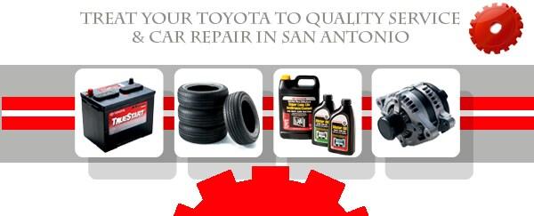 Toyota Car Repair Shop in San Antonio  Auto Service  Maintenance