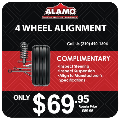 Service Specials  Coupons at Alamo Toyota in San Antonio TX